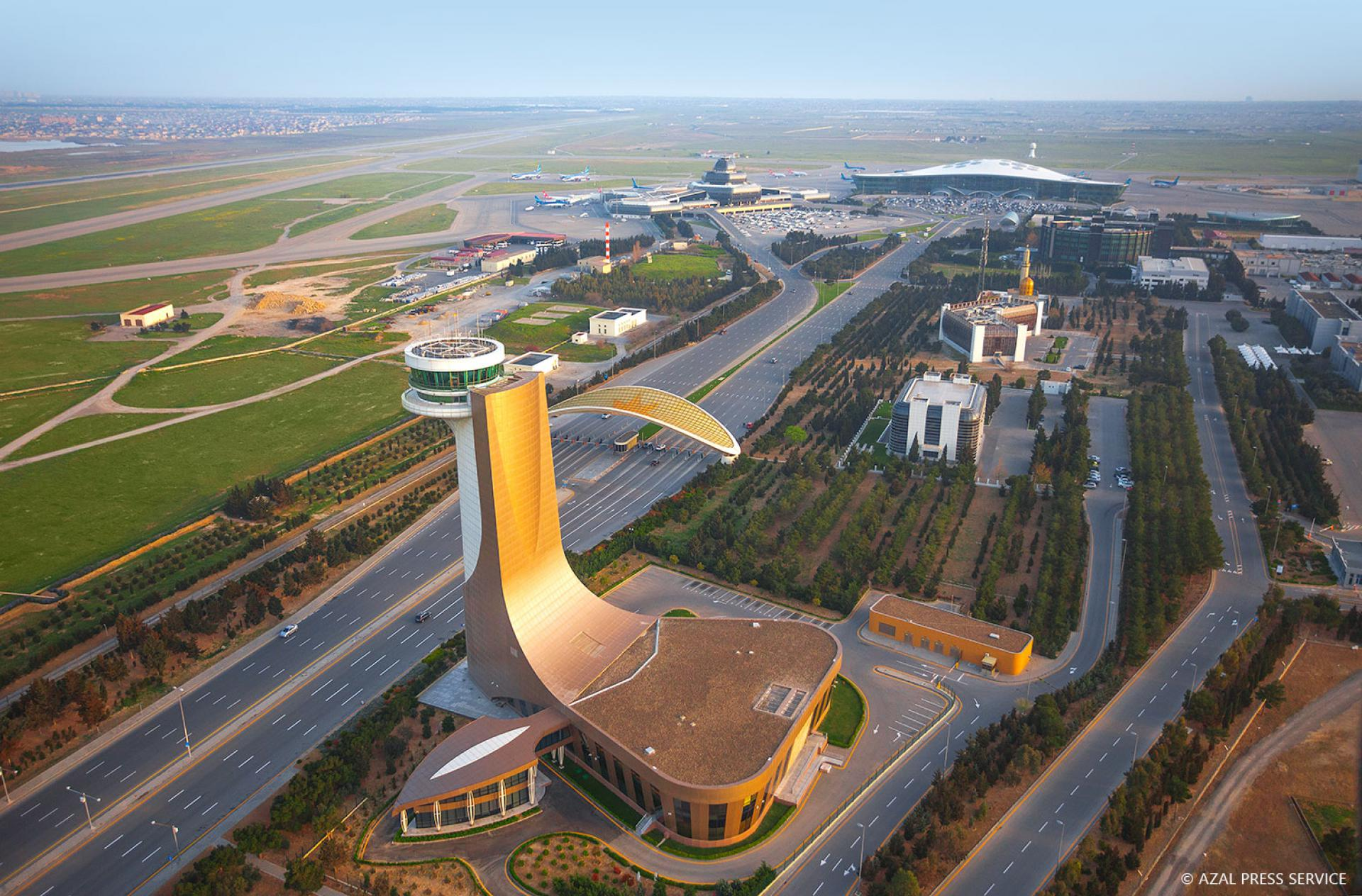 Heydar Aliyev International Airport Served About 3 5