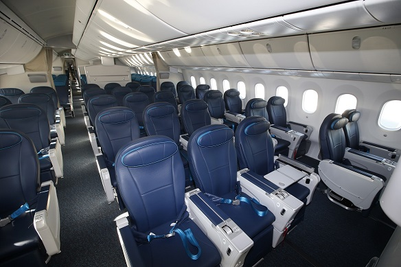 Comfort club azerbaijan airlines for Avion jetairfly interieur